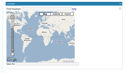 Geo Mashup Map
