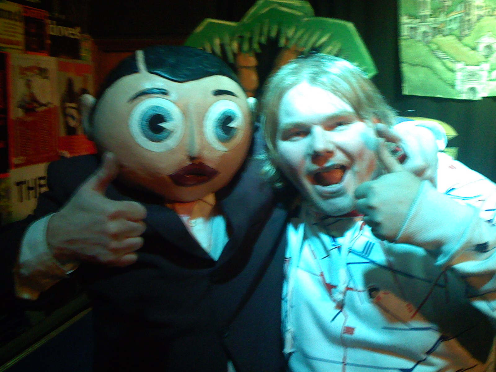 me and Frank